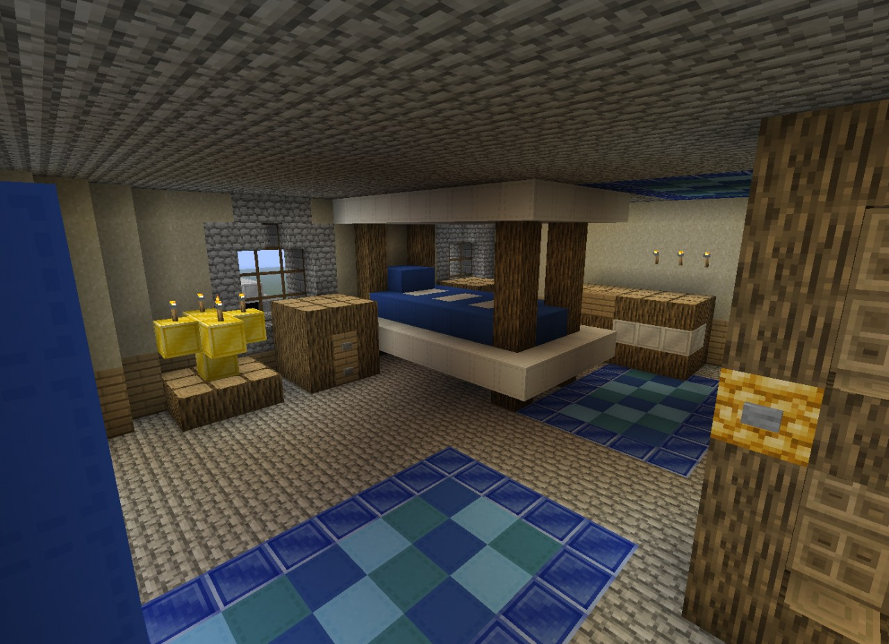 Runescape in minecraft a 1 3 scale update 2 minecraft for Bedroom ideas on minecraft