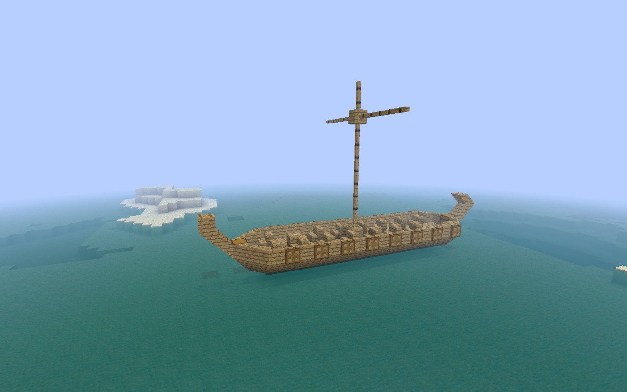 how to build a viking longboat