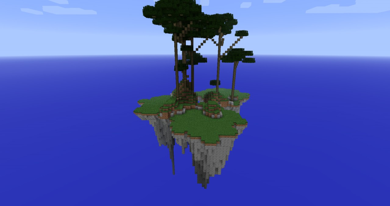 Floating Island Minecr...
