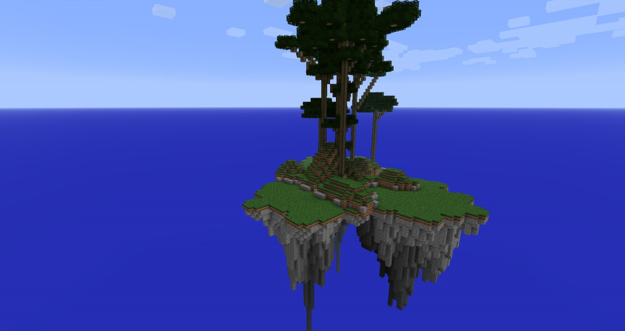 Minecraft Floating Island Map