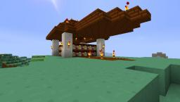 Rural Enchanting Station (32 bookshelves) Minecraft Project