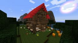 Simple Wooden Medieval House Minecraft Map & Project