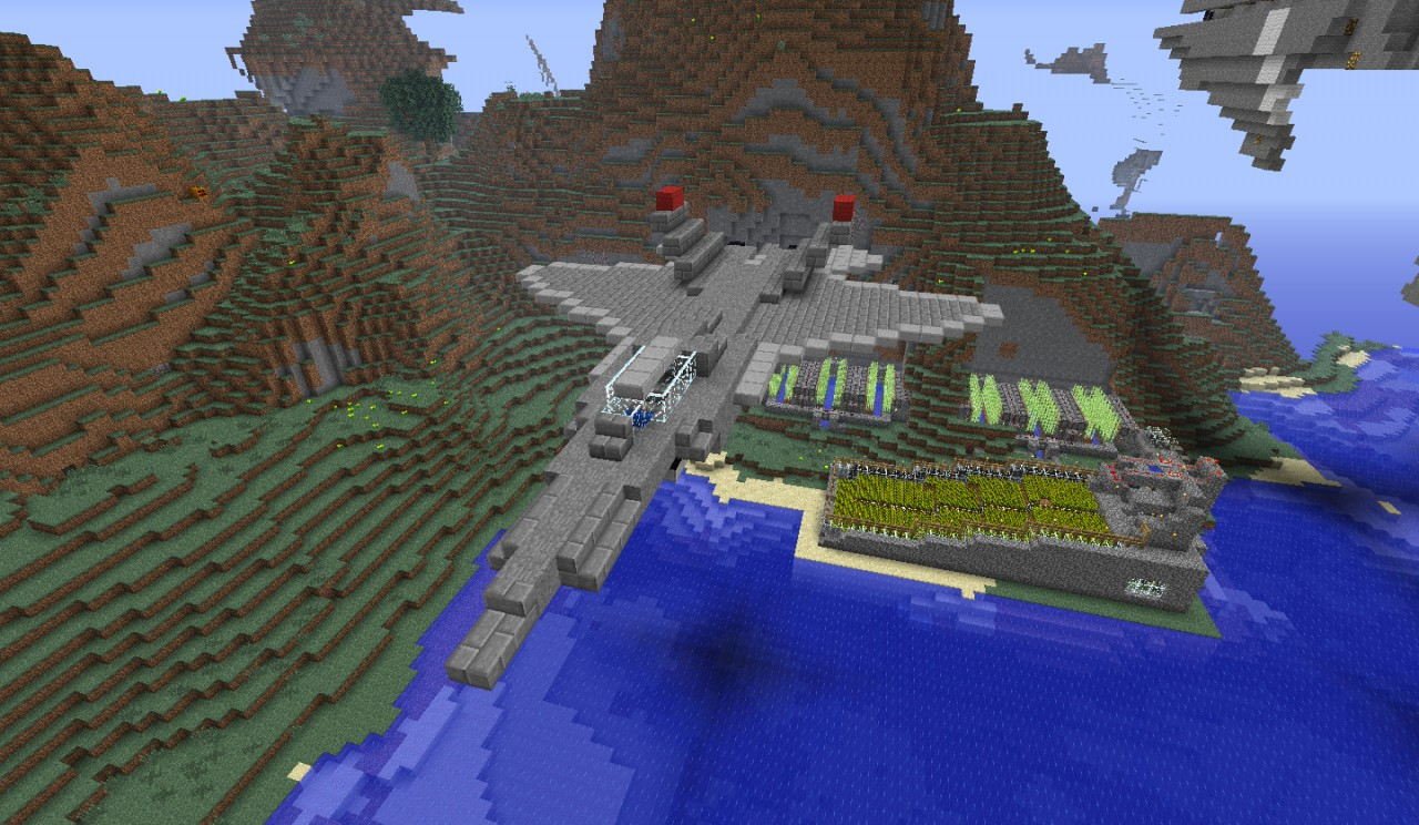 F 22 Raptor Minecraft Project