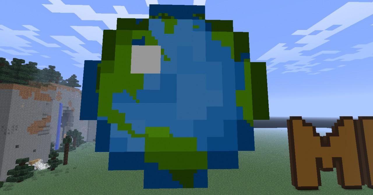 Minecraft Planet Minecraft Planet Minecraft Icon Pixel Art
