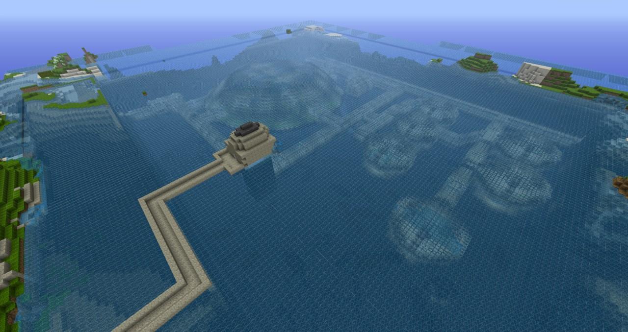 how to build underwater minecraft