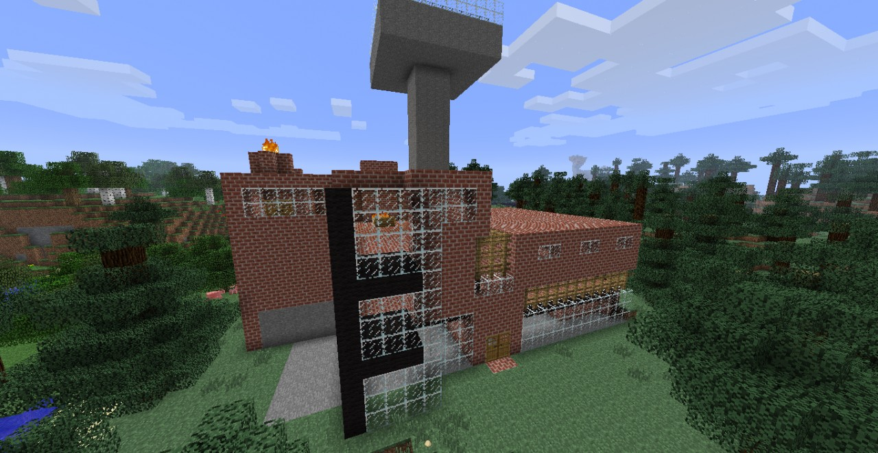 Dreamhouse creative mode minecraft project