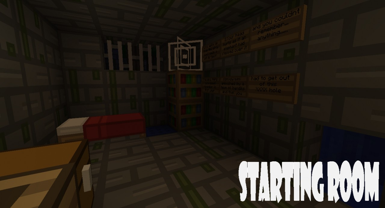 Dungeon Escape Minecraft Project