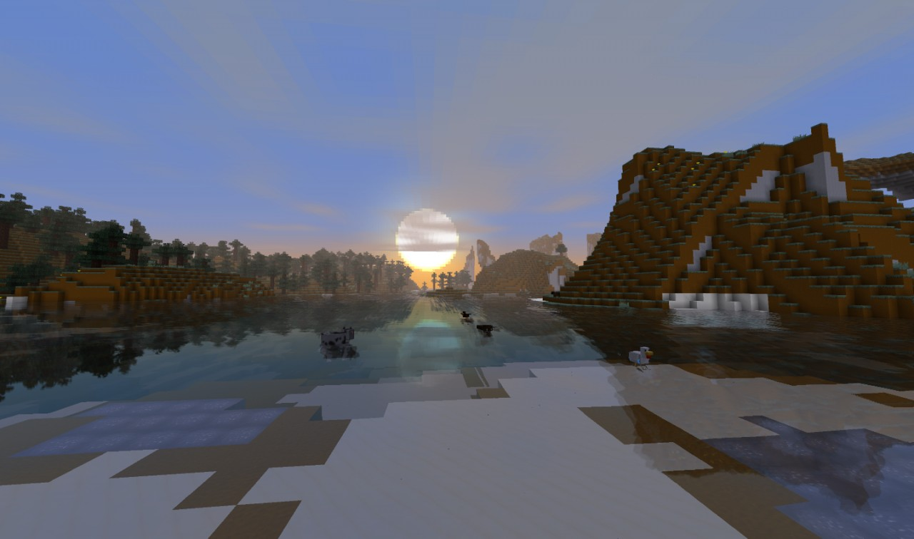 A sunset from Defscape 32x Version 1.6