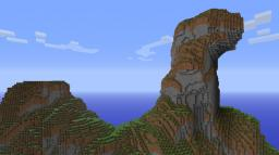 Custom Terrain:  Forest Valley Minecraft Project
