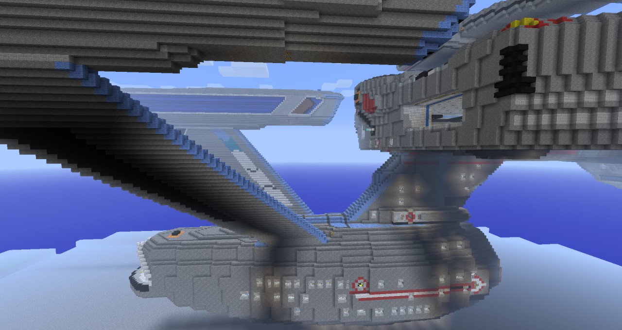 Star trek uss yamato explorable minecraft project for Star trek online crafting leveling guide