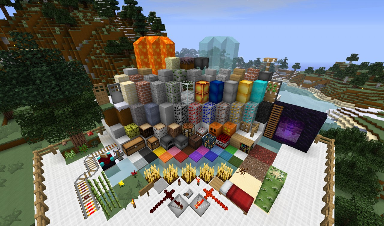 Defscape 16x v2.4 - 1.6.x Ready! Minecraft Texture Pack