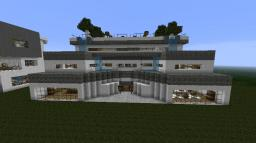 Modern Luxury Mansion Minecraft Map & Project