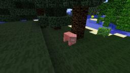Faceless pigs! Minecraft Texture Pack