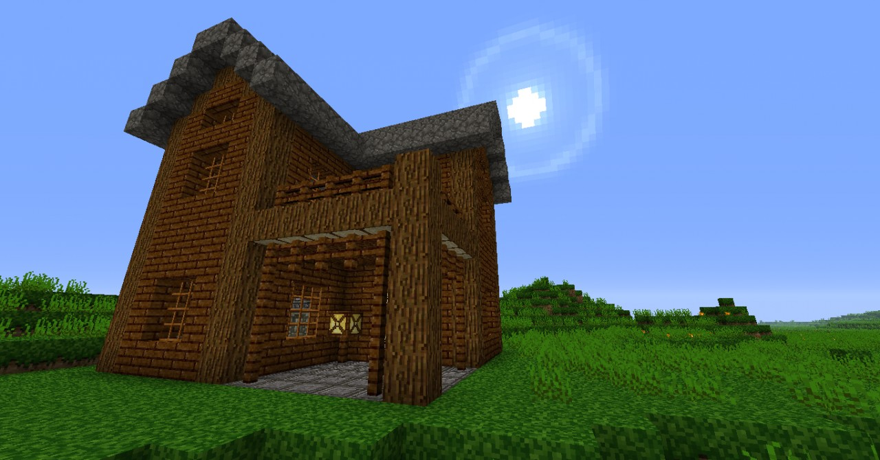 A Small Two Story House Minecraft Project