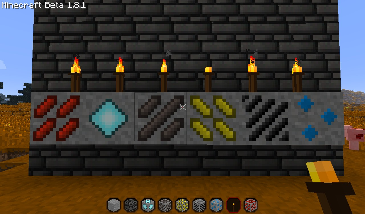 All the ores