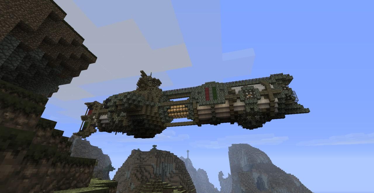 Airship Fleet (Gunboat) Minecraft Project