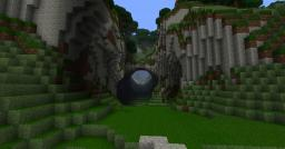 LandescapeGiorat-Canyon waterfall Minecraft Map & Project