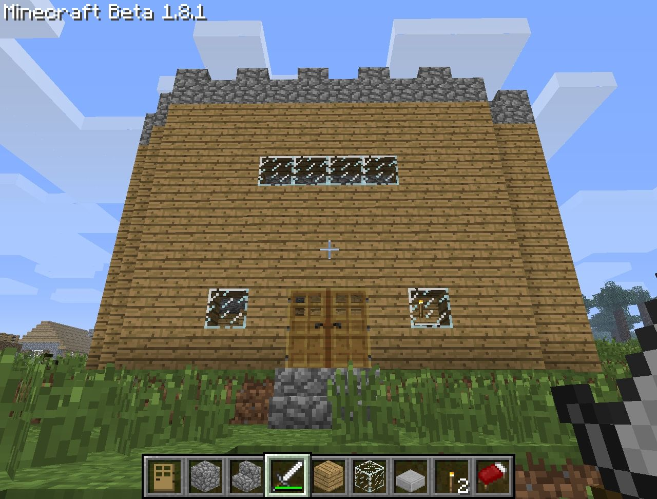 Cool 3 story house minecraft project for Cool two story houses