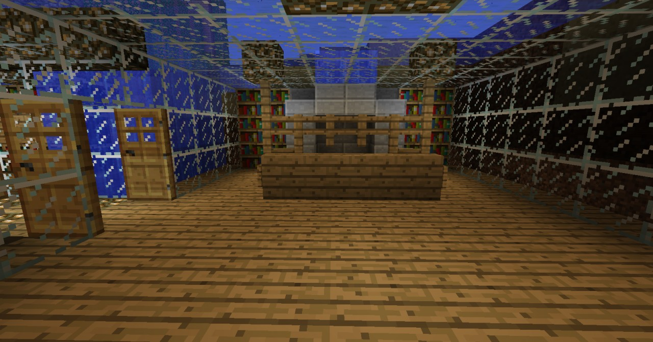how to build a water base in minecraft