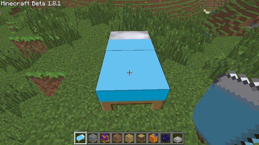 BLUE BED OMGOMGOMG ...