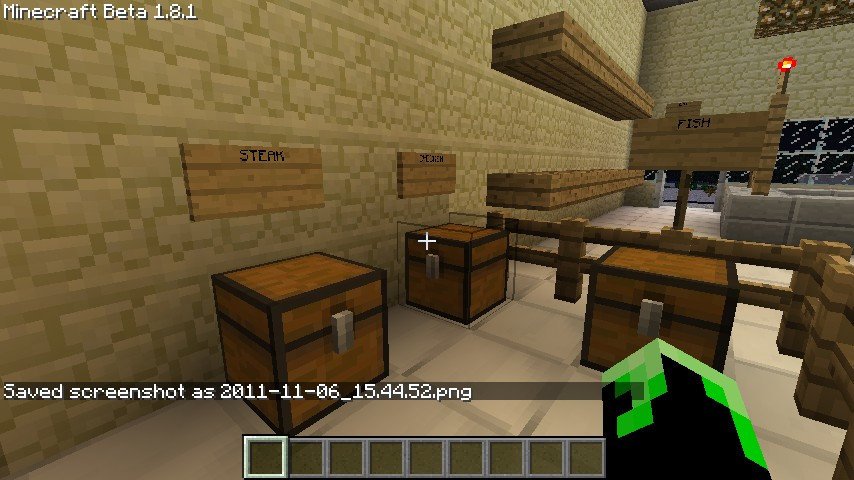 Food market minecraft project for Cuisine minecraft