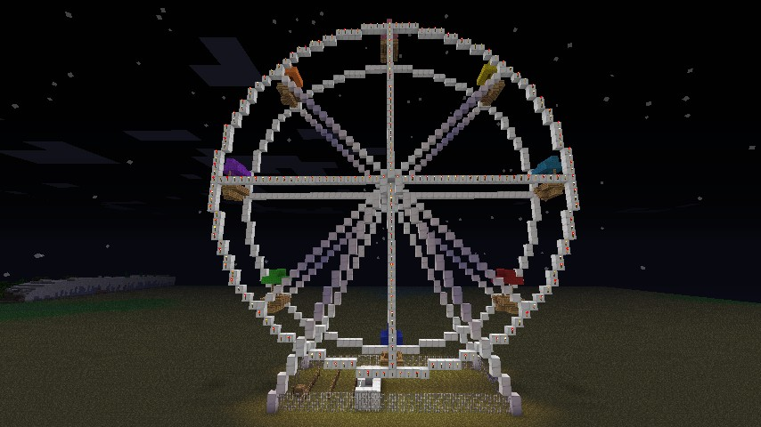 Ferris Wheel Projects Ferris Wheel Minecraft Project
