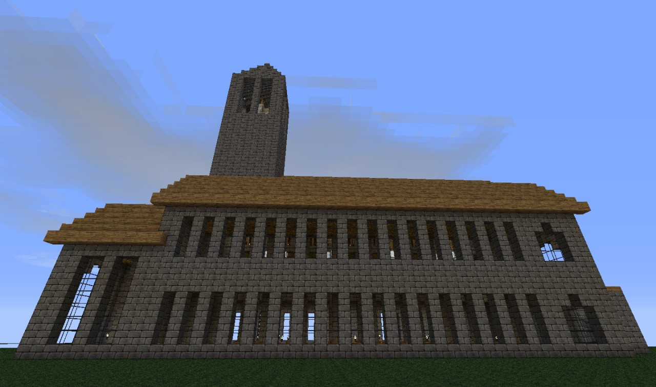 how to build a minecraft at st