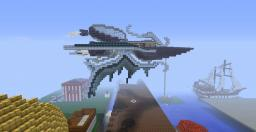 Final Fantasy Inspired Airship Minecraft Map & Project