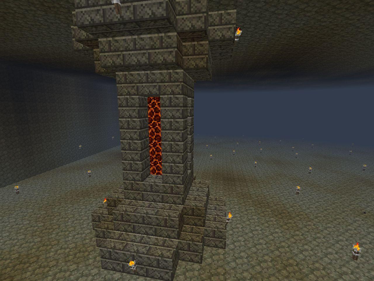 Dwarven Mine Minecraft Project