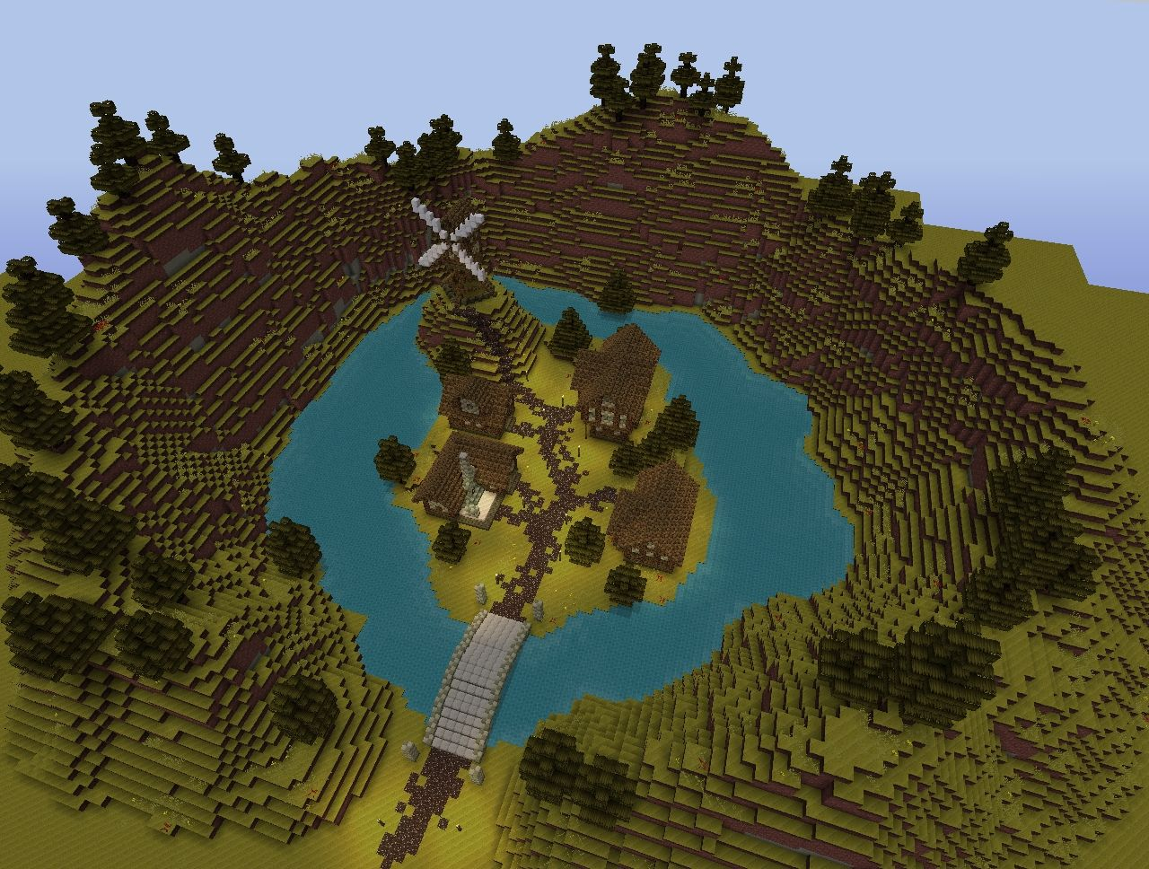 Medieval Series Fantasy Village Minecraft Project