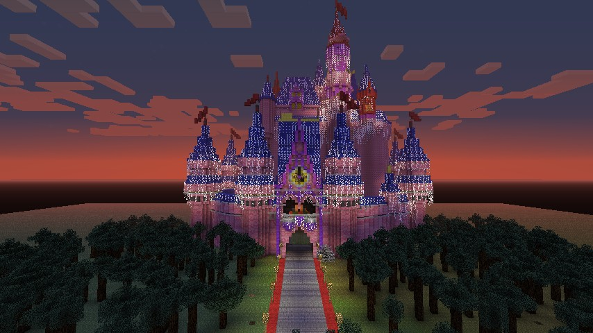 minecraft how to build little donny s castle