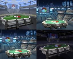 Pokemon Stadium 2 from Super Smash Bros Brawl (Thumbs up if you like it XD) Minecraft