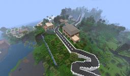 Gregonsburg Hills - Complete neighborhood Minecraft Map & Project
