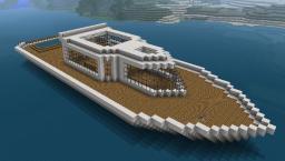 Statek / Ship Minecraft Map & Project