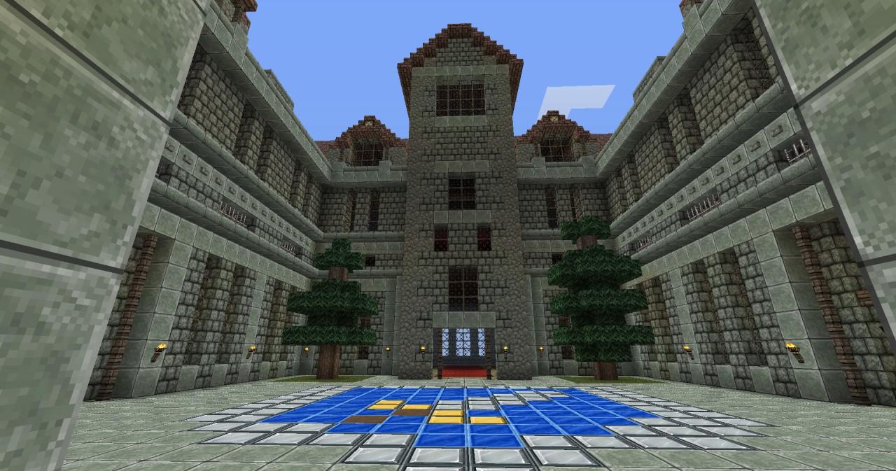 Discworld Assassins Guild Ankh Morpork Minecraft Project