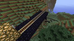 Mountain Rollercoaster - Update #1 Minecraft Project