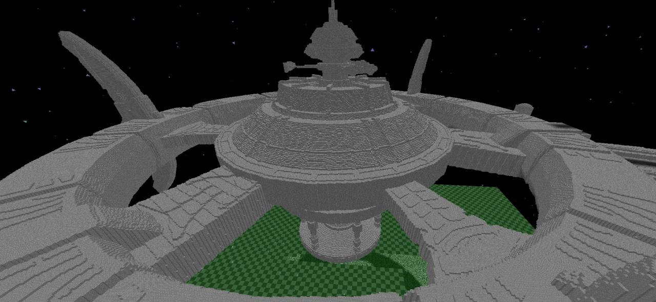 how to build a space station in minecraft