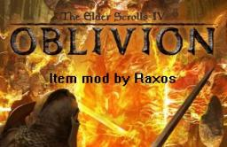 The Elder Scrolls IV: New Items Minecraft Mod