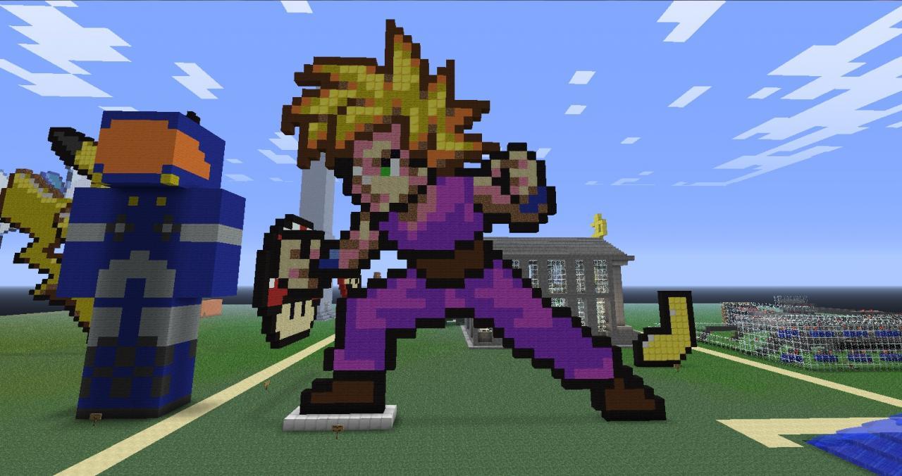 Super Saiyan Gohan Minecraft Project