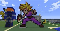Super Saiyan Gohan Minecraft Map & Project