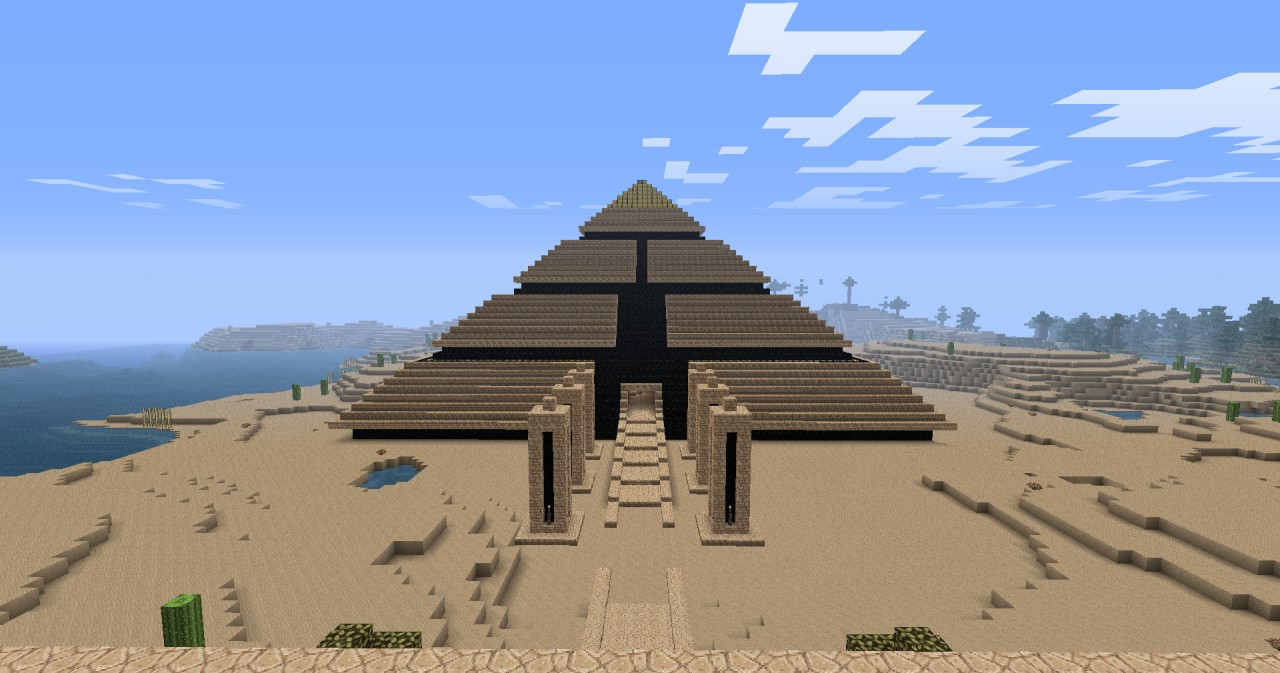 Pyramid Minecraft Project