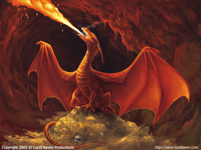 Red Fire Dragon: Red Dragon Attacks! Minecraft Blog