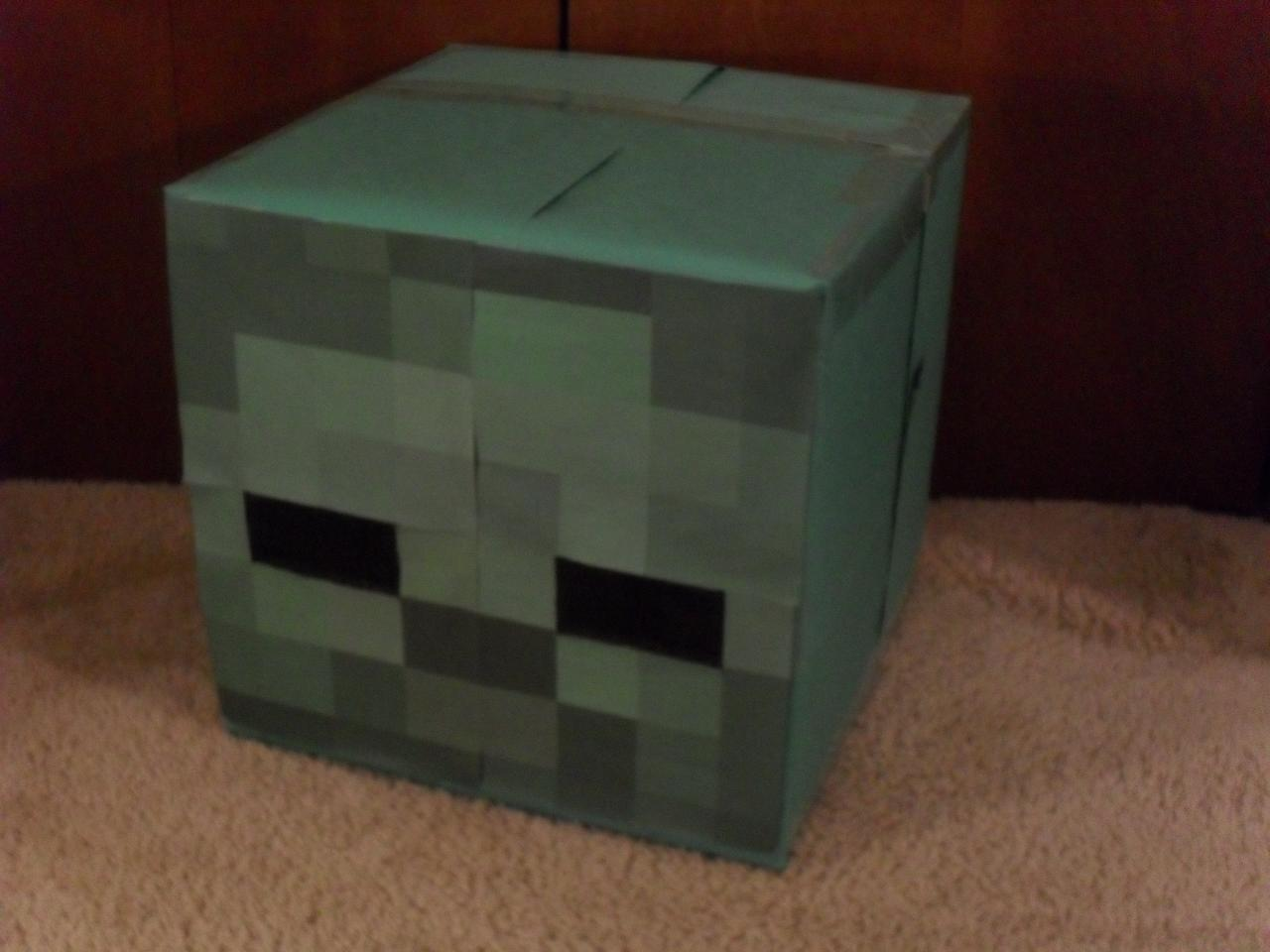 Zombie Halloween Costume Minecraft Project