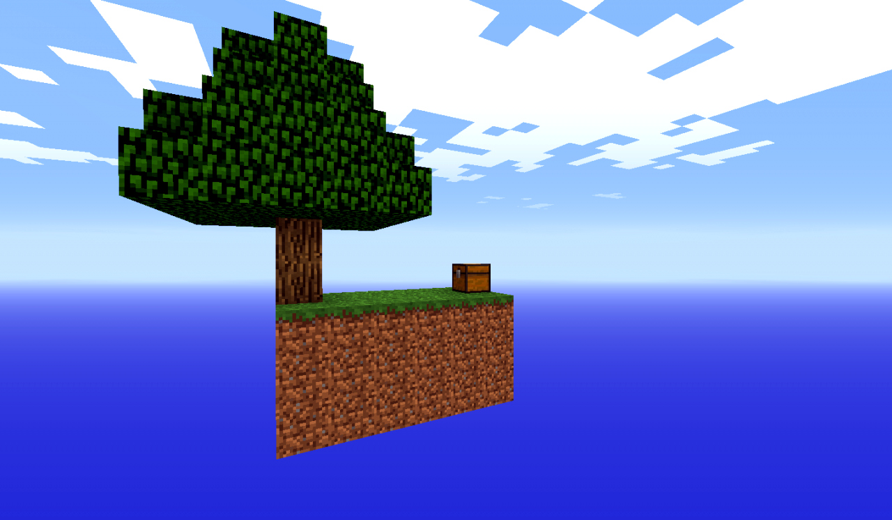 Minecraft   Sky Island Map Download