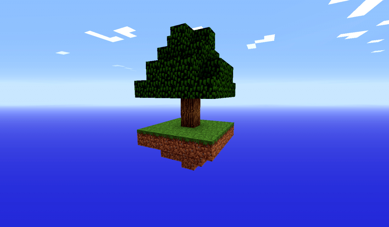 Minecraft Islands In Sky Map