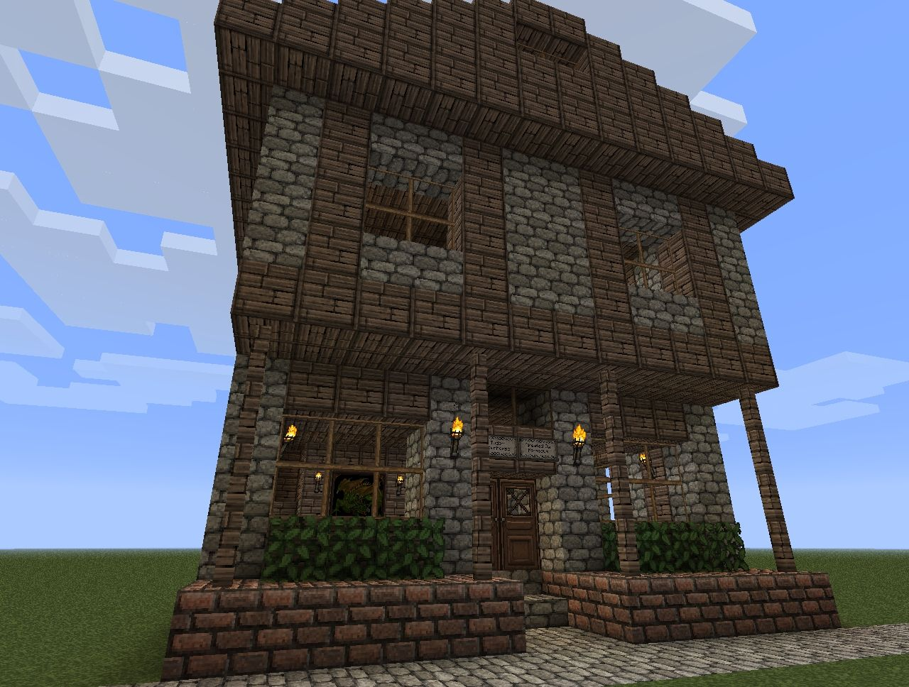 English Townhouse Industrial Era At It S Finest Minecraft