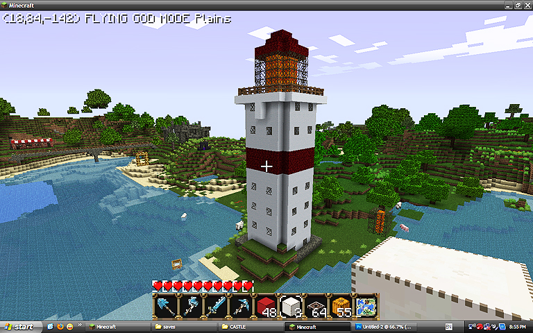 Lighthouse Harbor Minecraft