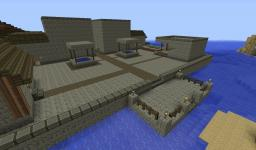 Floating Village Minecraft Map & Project