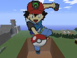 Ash Ketchum Minecraft Map & Project