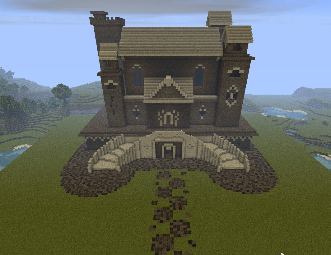My empire of dirt minecraft project for What makes a mansion